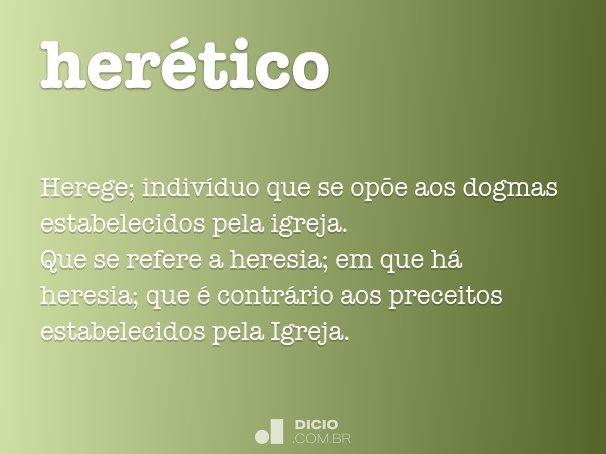 herético