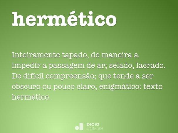 hermético