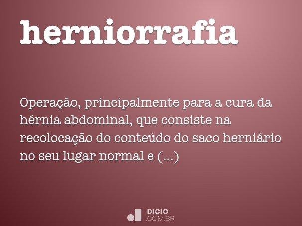 herniorrafia