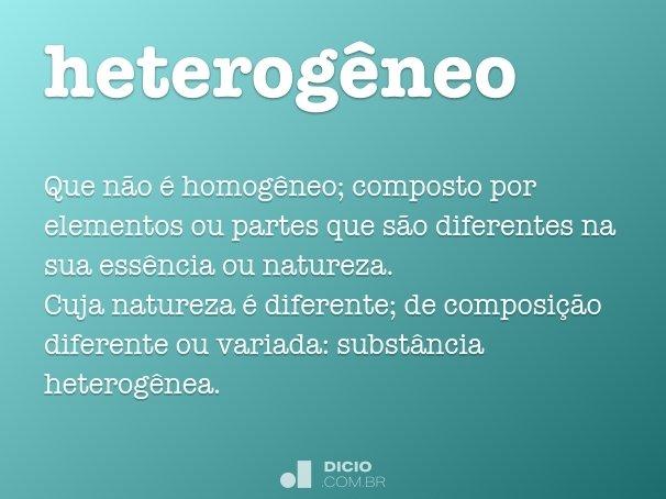 heterogêneo