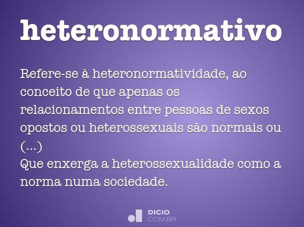 heteronormativo