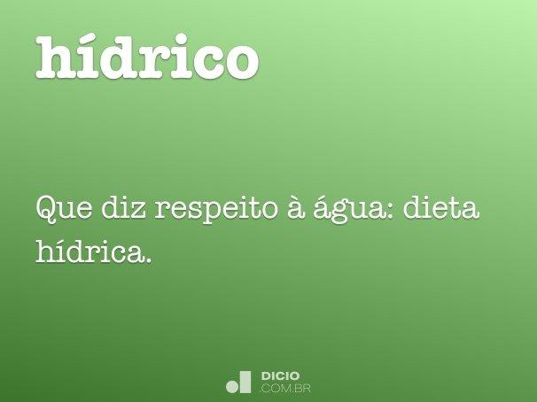 h�drico