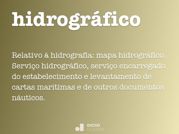 hidrogr�fico