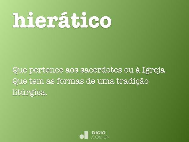 hier�tico