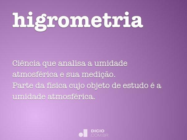 higrometria