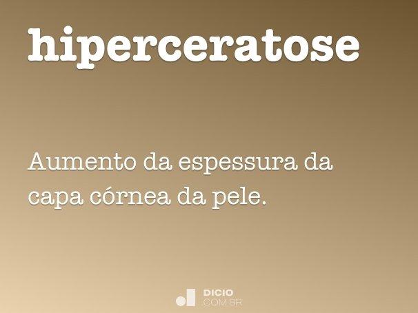 hiperceratose
