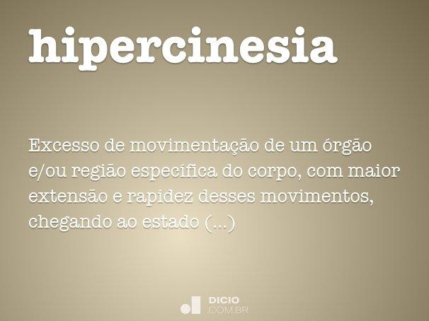 hipercinesia