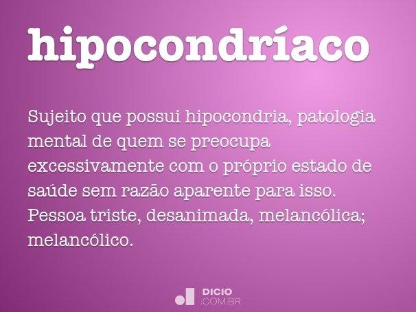 hipocondr�aco