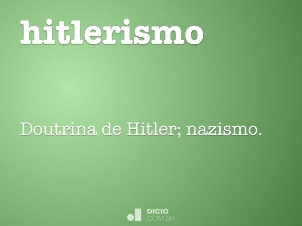 hitlerismo