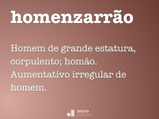 homenzarr�o