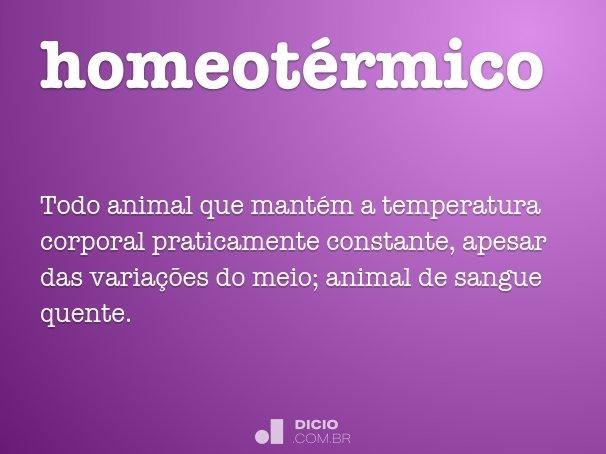 homeot�rmico