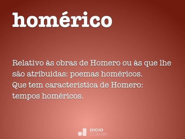homérico