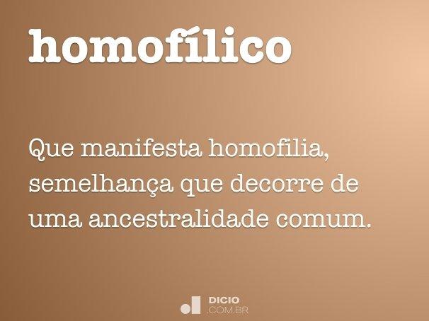 homof�lico