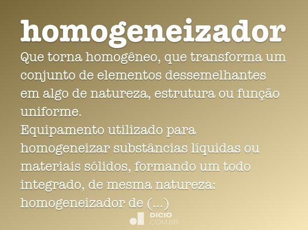 homogeneizador
