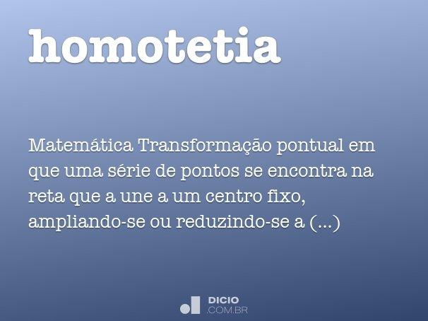 homotetia