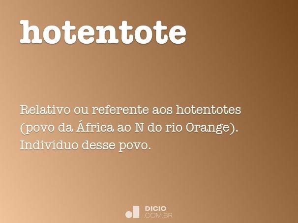 hotentote