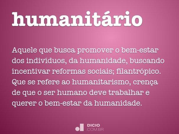 humanit�rio