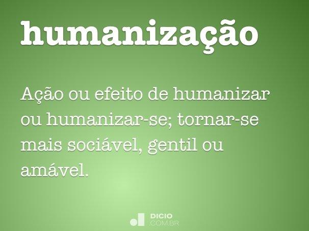 humaniza��o