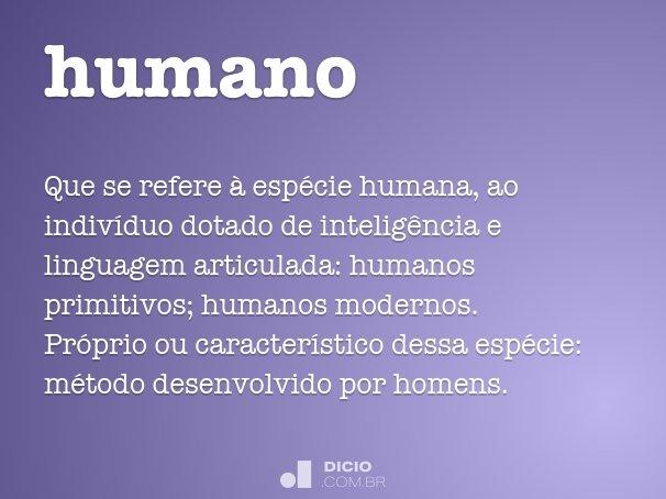 humano