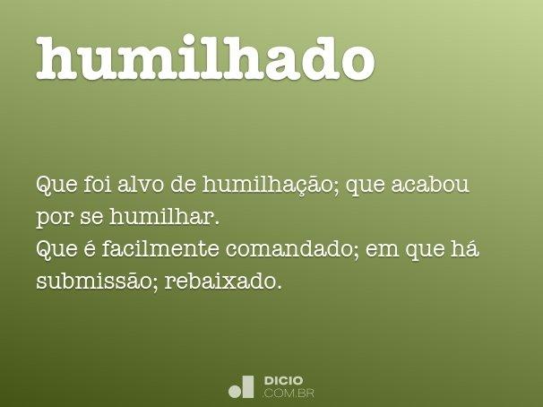 humilhado
