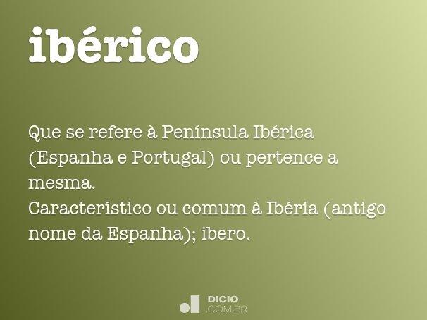 ibérico