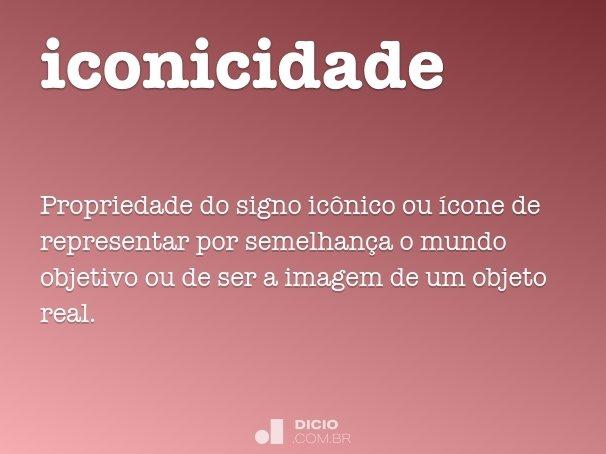 iconicidade