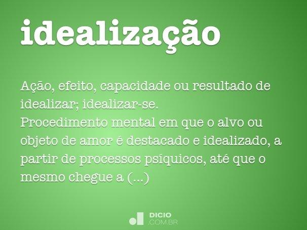 idealização