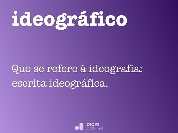 ideográfico
