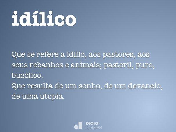 idílico