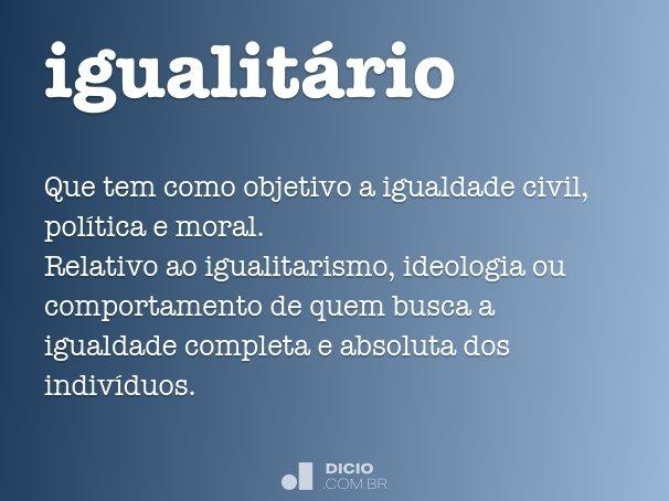 igualitário