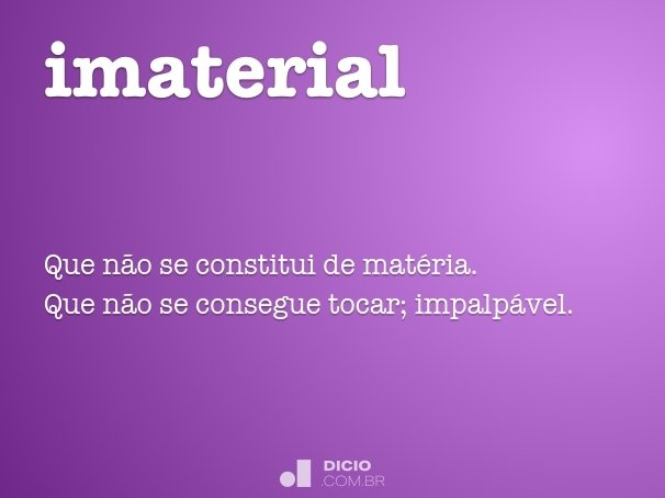 imaterial