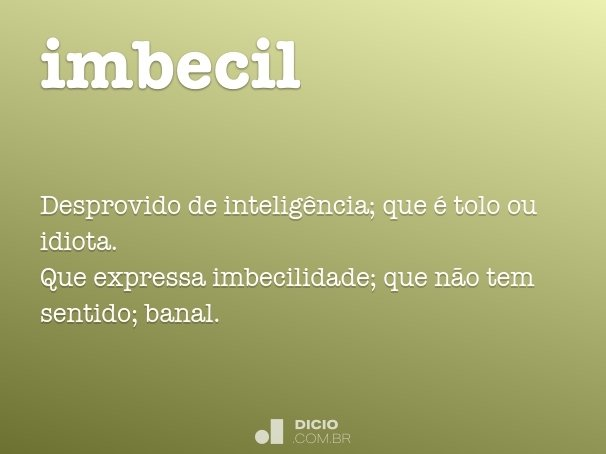 imbecil