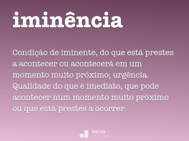 imin�ncia