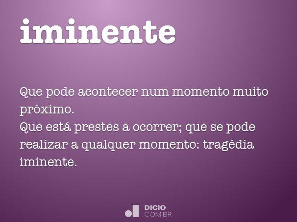 iminente