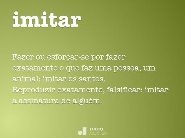 imitar