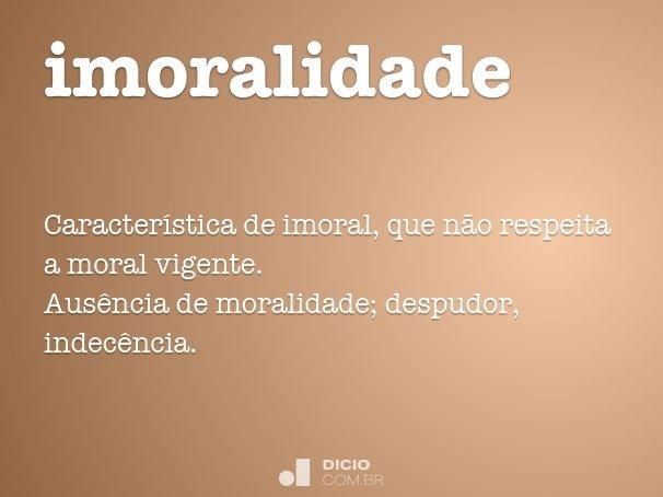 imoralidade