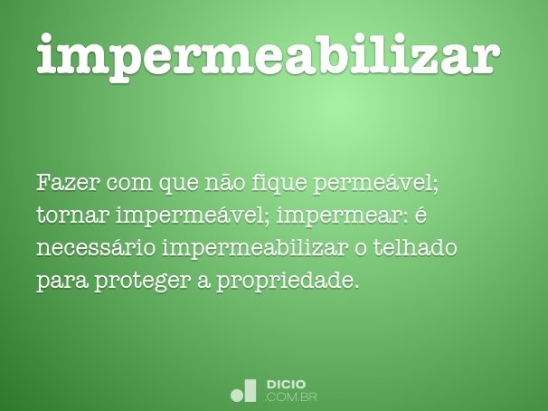 impermeabilizar