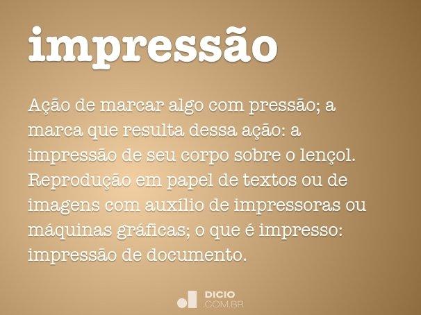 impress�o