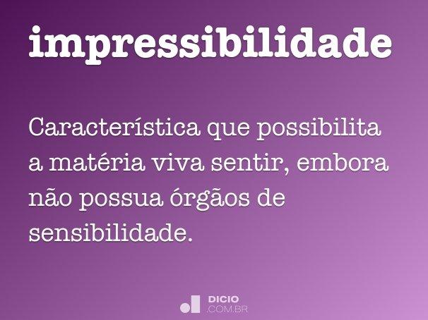 impressibilidade
