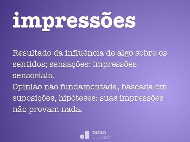 impressões