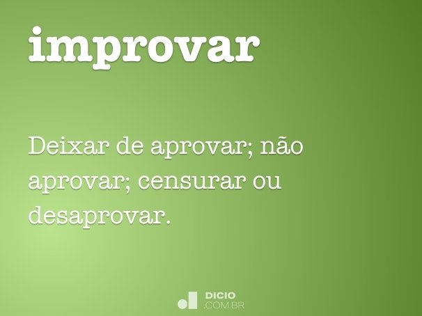 improvar
