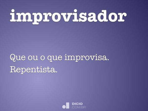 improvisador