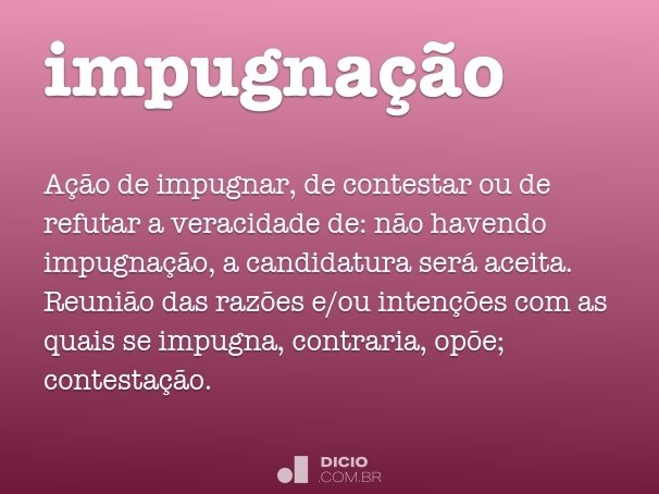 impugnação