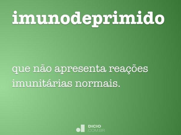 imunodeprimido