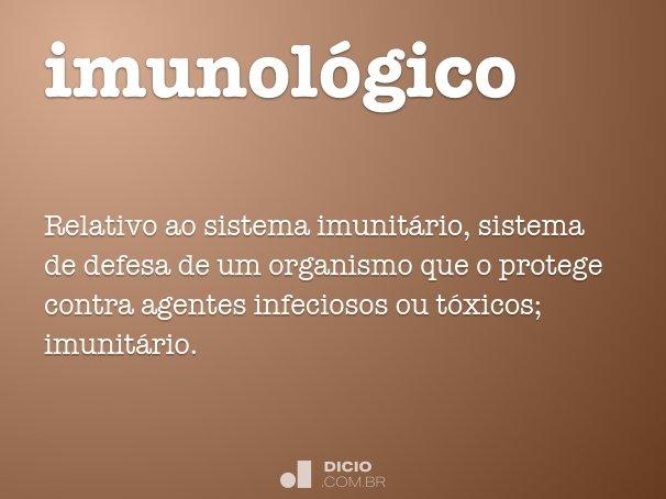 imunol�gico