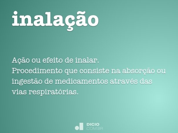 inala��o