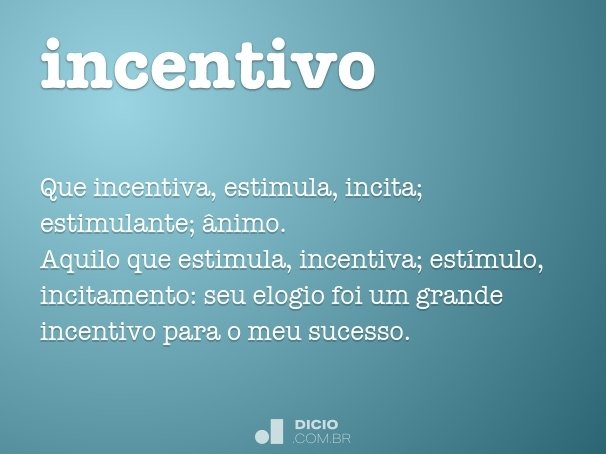 incentivo