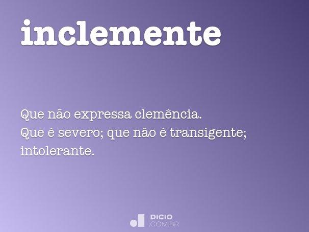 inclemente