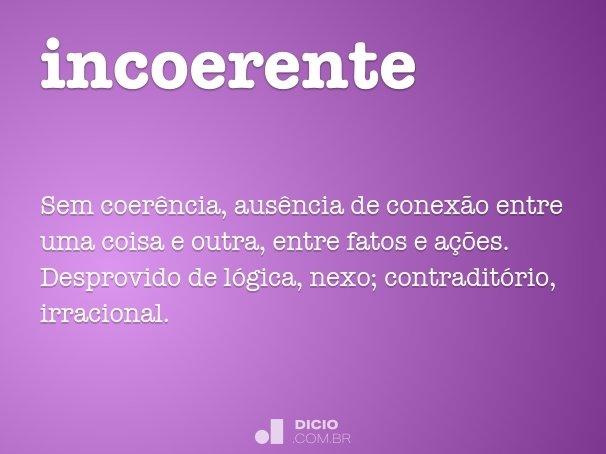 incoerente