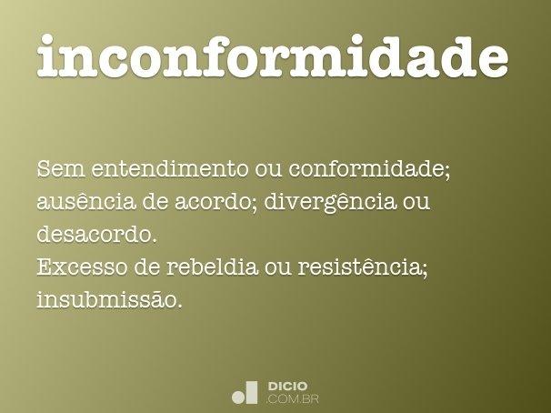 inconformidade